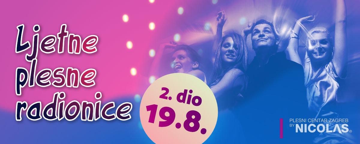 Ljetne plesne radionice, 2. dio 19.8. - PCZ by Nicolas