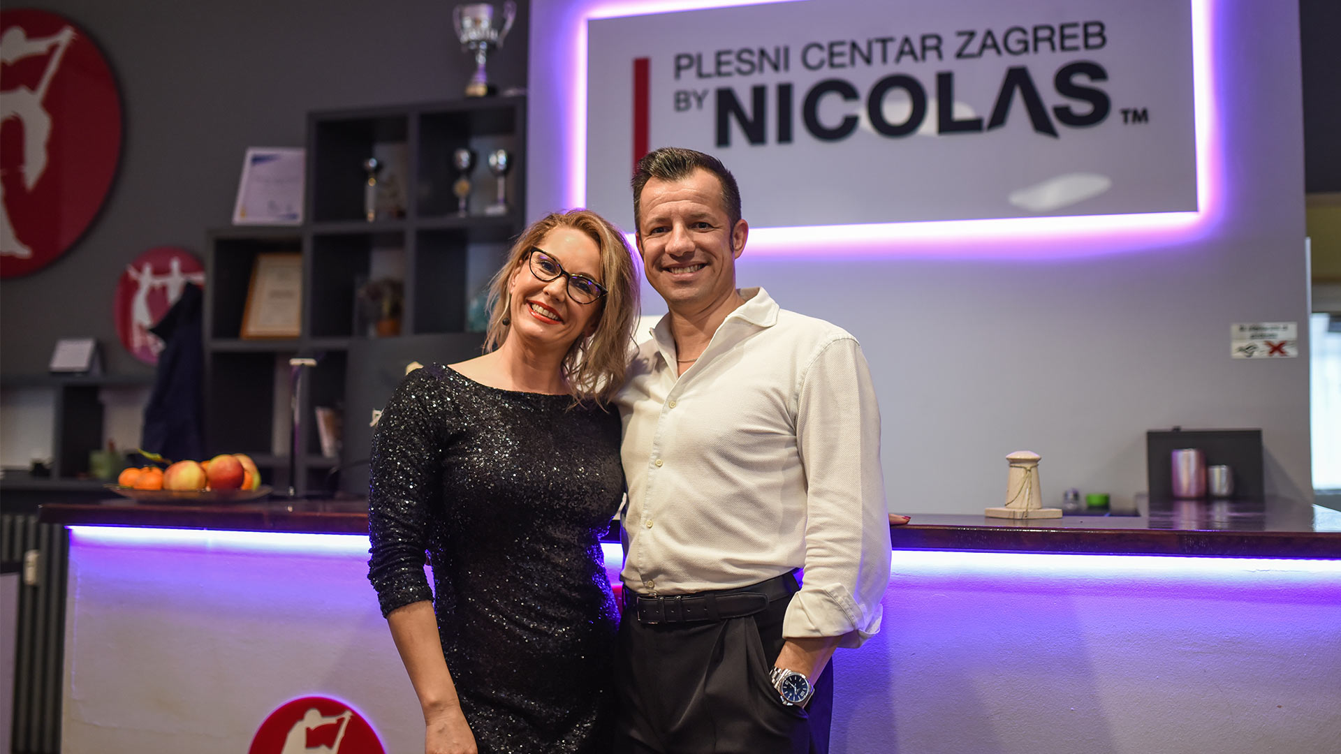 Nicolas Quesnoit i Ksenija Plušćec Quesnoit