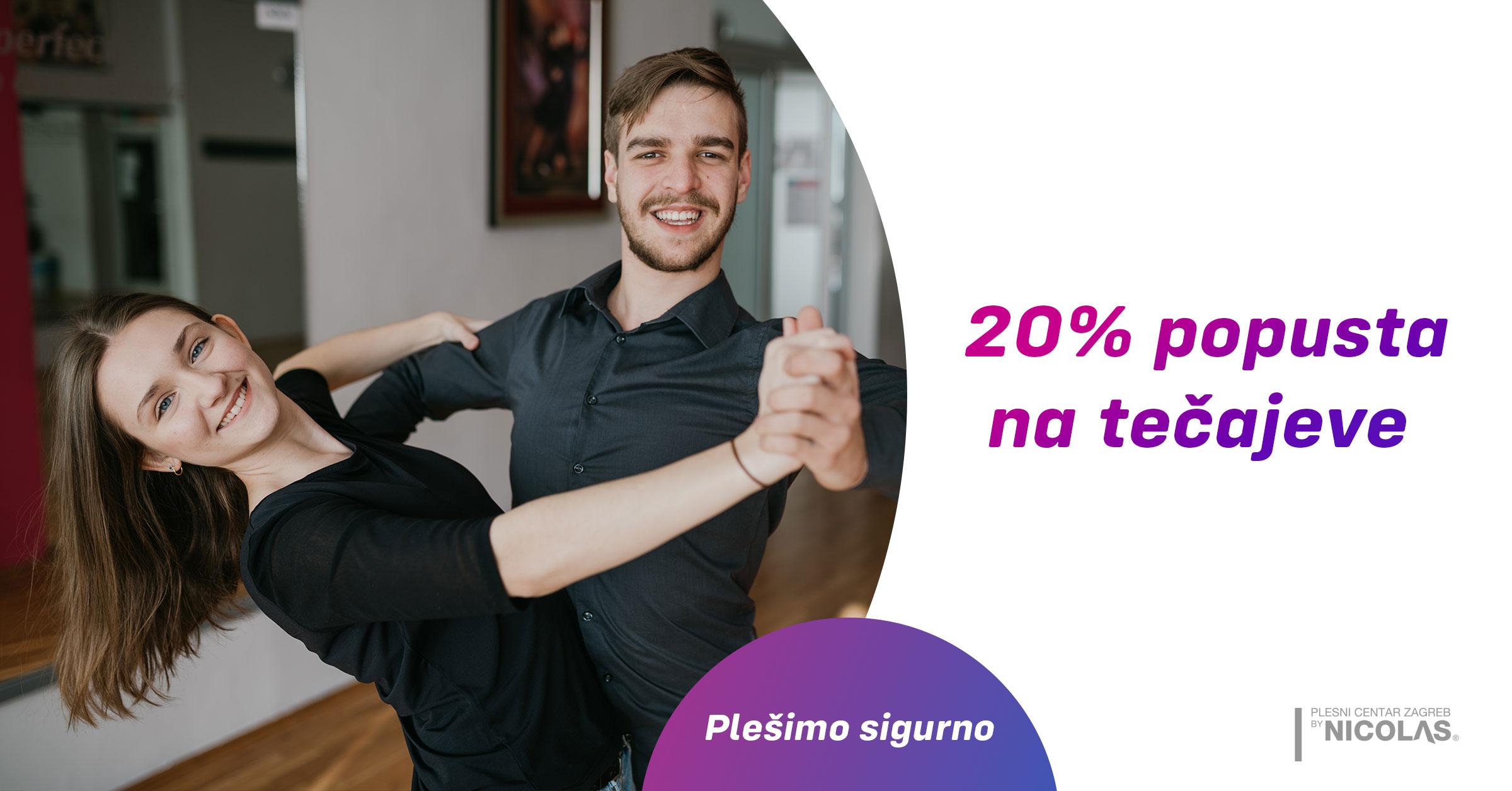 Popust na tečajeve - Plesni centar Zagreb