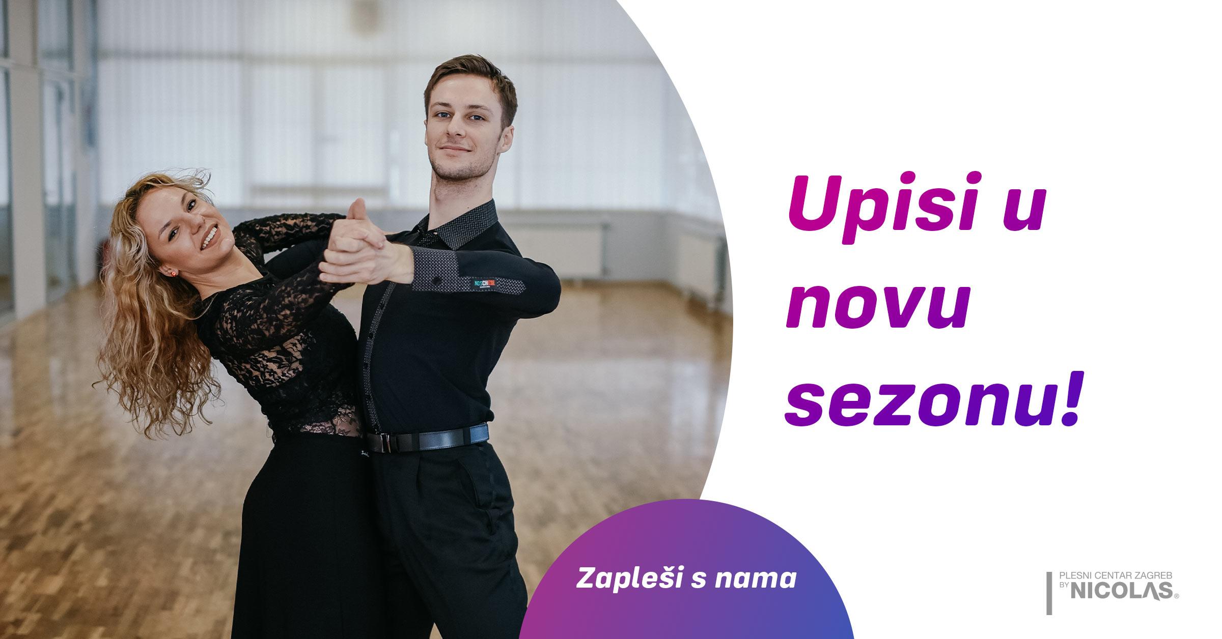 Plesni centar Zageb by Nicolas - Upisi u novu sezonu
